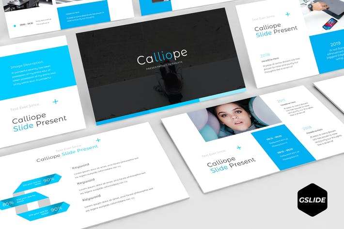 Thumbnail for Calliope - Google Slides Template