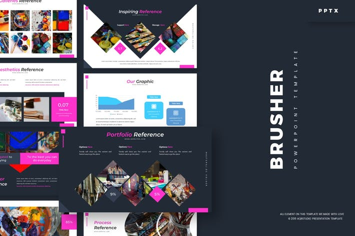 Thumbnail for Brusher - Powerpoint Template