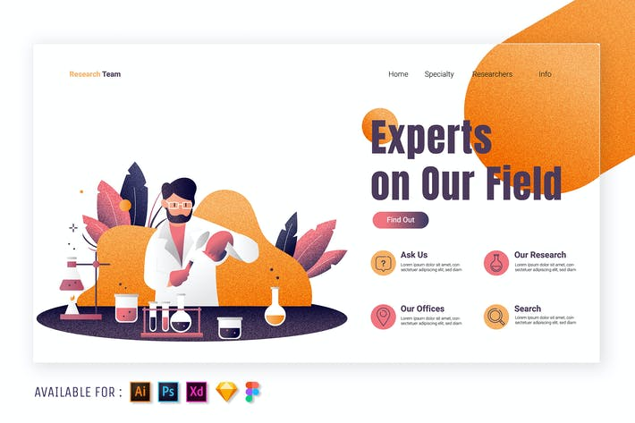 Thumbnail for Medical Research - Web Illustration