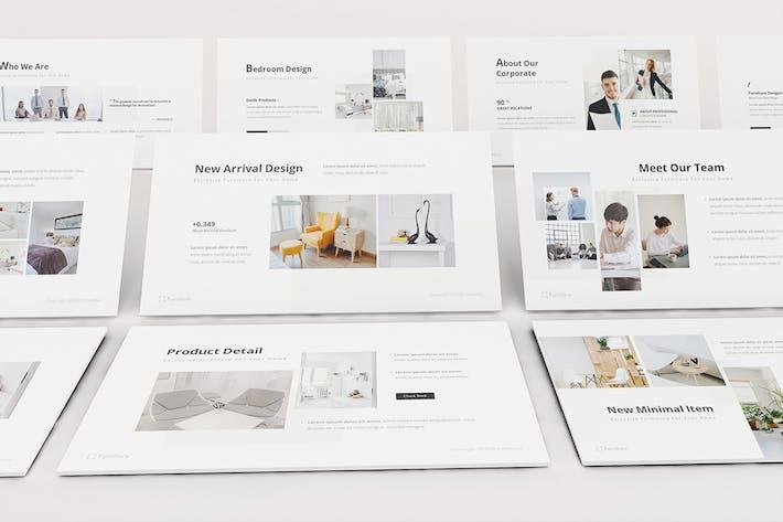 Thumbnail for Ravaror Furniture Google Slides Template