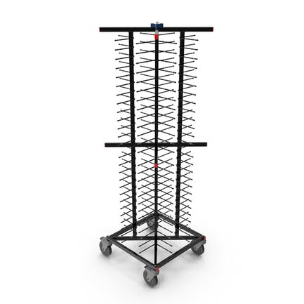 Stainless Steel Professional Plate Rack