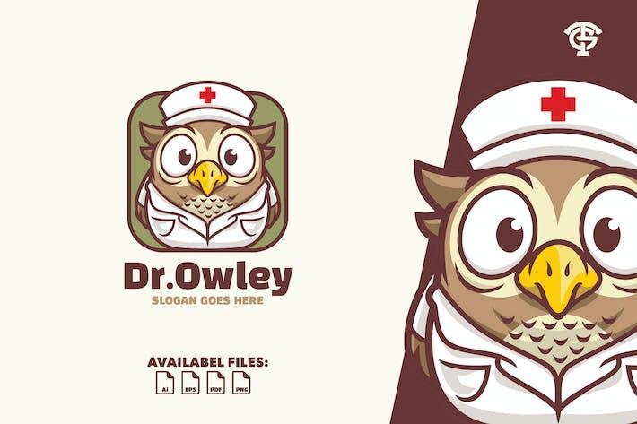 Thumbnail for Dr Owley - Logo Mascot