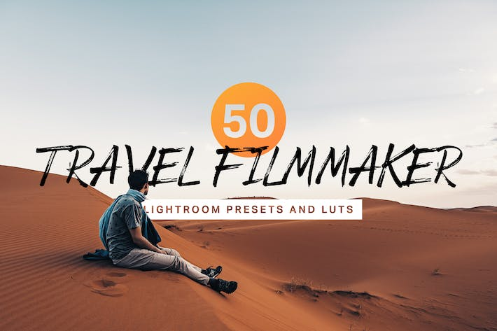 Thumbnail for 50 Travel Filmmaker Lightroom Presets and LUTs