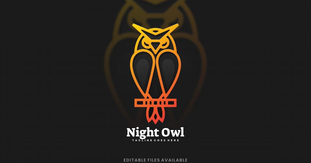 Download Owl Gradient Logo by artnivora_std
