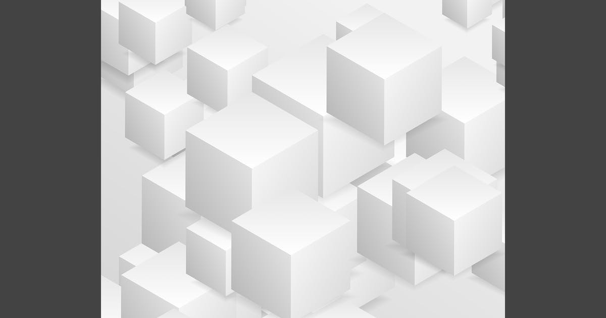 Download Abstract tech geometric 3d background by saicle