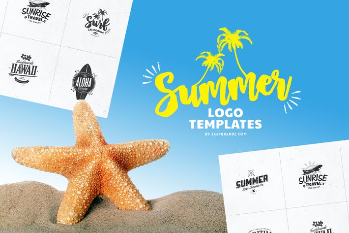 Thumbnail for Summer Logo Templates