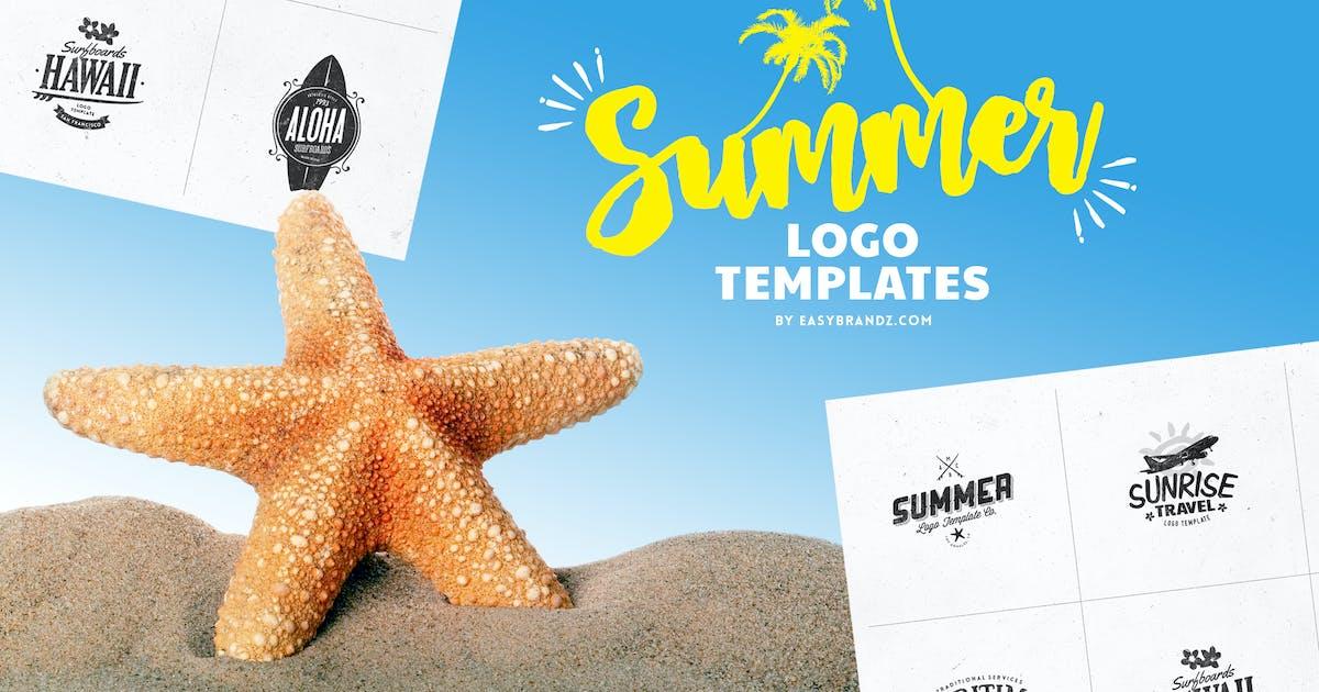 Download Summer Logo Templates by Easybrandz2