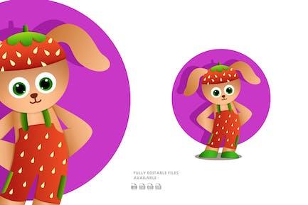 Bunny Cartoon Illustration