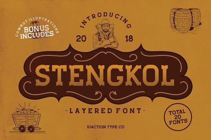 Thumbnail for Fuente en capas Stengkol
