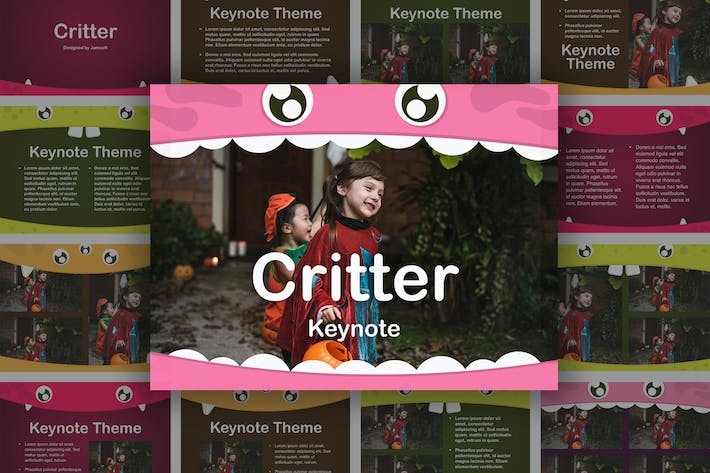 Thumbnail for Critter Keynote Template