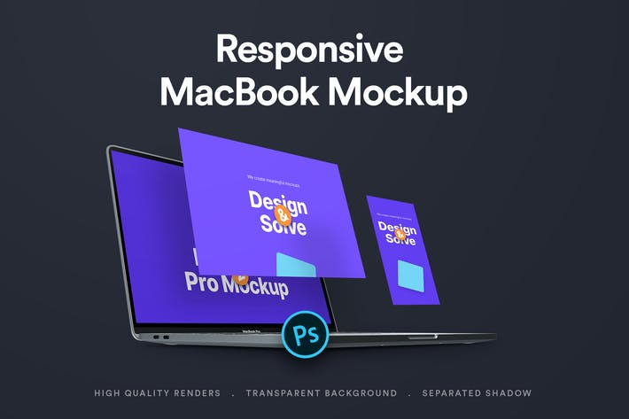 Thumbnail for Responsive Device Mockup 3.0