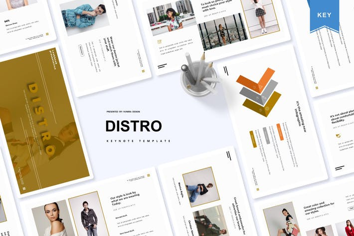 Thumbnail for Дистро | Шаблон Keynote