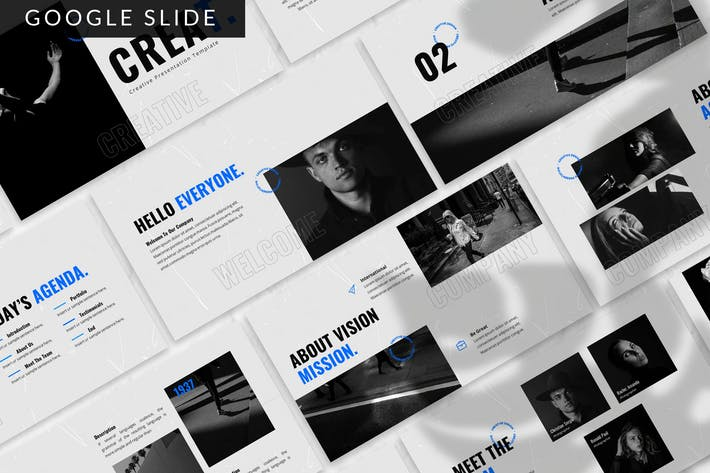 Creat - Creative Google Slide Template