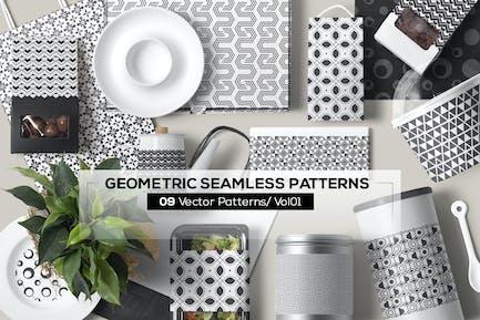 09 Geometrische nahtlose Muster