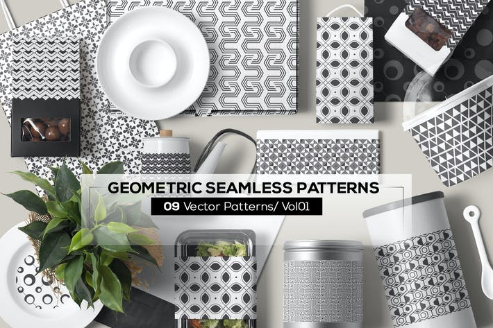 Thumbnail for 09 Geometric Seamless Patterns