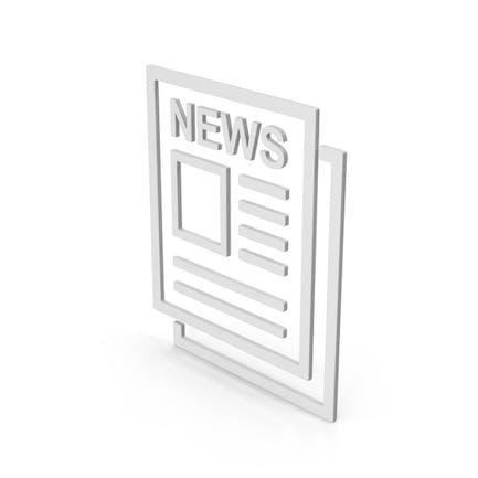 Symbol Newspaper