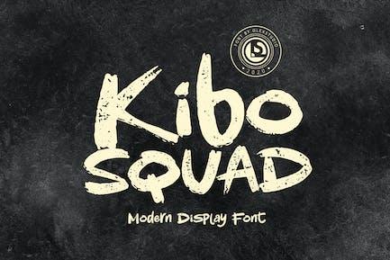 KIBO Squad - Display Font