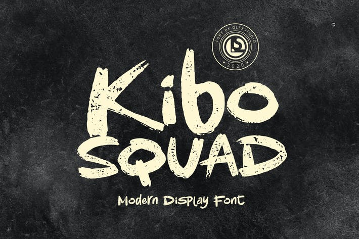 Thumbnail for KIBO Squad - Display Font