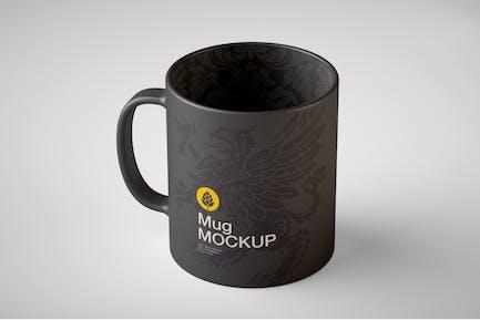 Colorfull Matte Cup Mockup