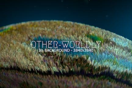 Otherworldly 3D Background