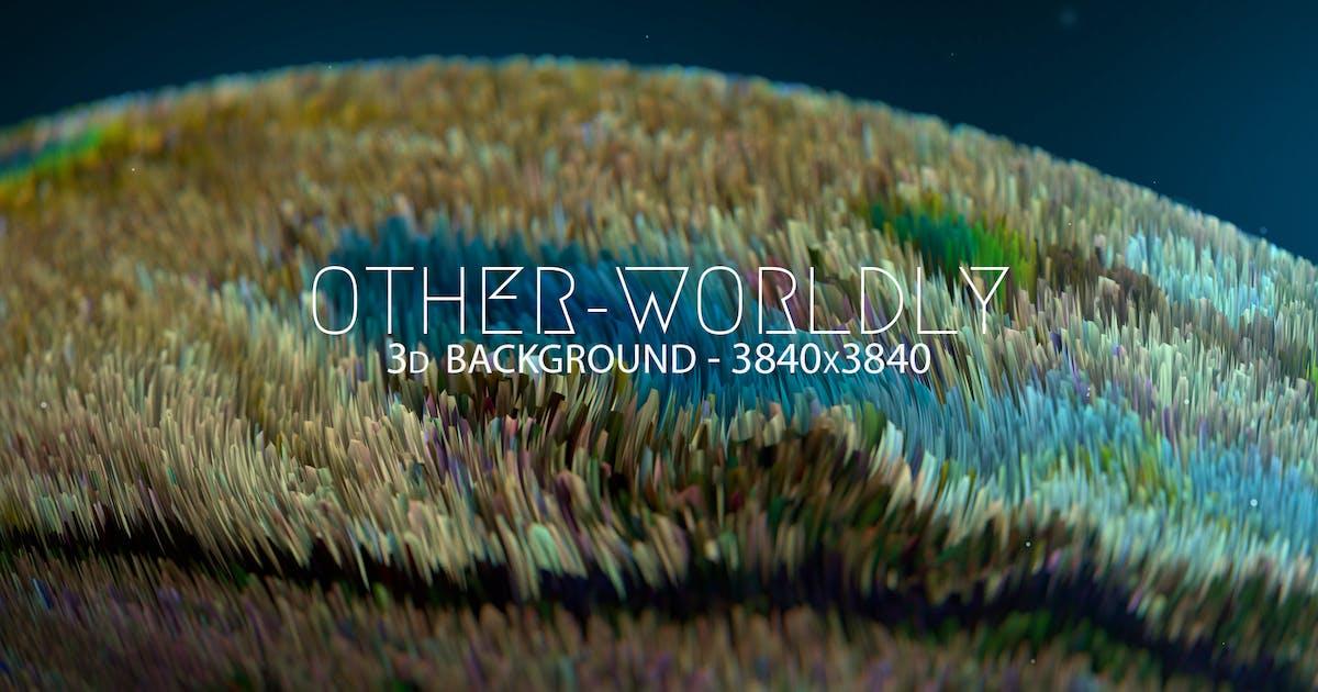 Otherworldly 3D Background by Abdelrahman_El-masry