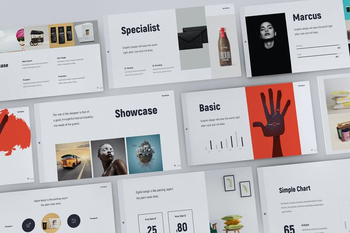 Thumbnail for Fabros - Creattive Presentation Template (PPTX)