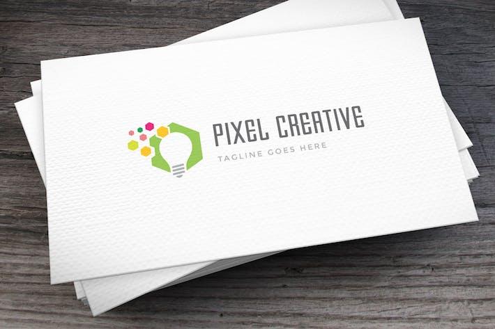 Thumbnail for Pixel Creative Logo Template
