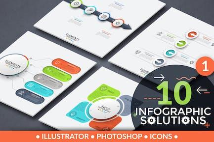10 Solutions Infographiques. Partie 1