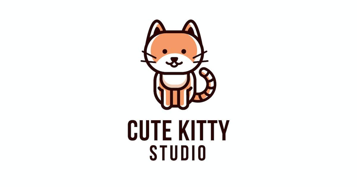 Download Cute Kitty Studio Logo Template by IanMikraz