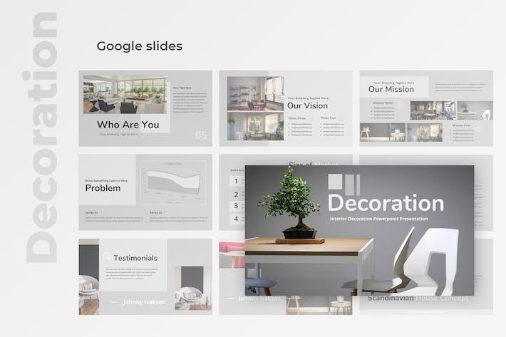 Decoration - Property Google Slides Presentation