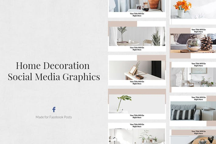 Thumbnail for Home Decoration Facebook Posts