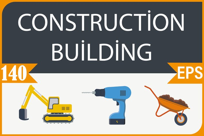 Thumbnail for Construction and Building Icons
