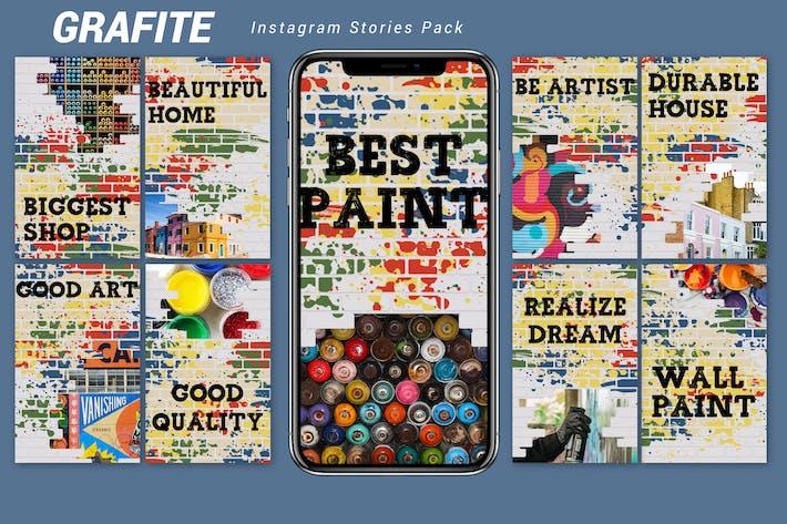 Thumbnail for Grafite - Instagram Story Pack