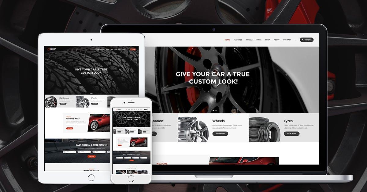 Download Reisen | Automechanic & Auto Body Repair Car WP by ThemeREX
