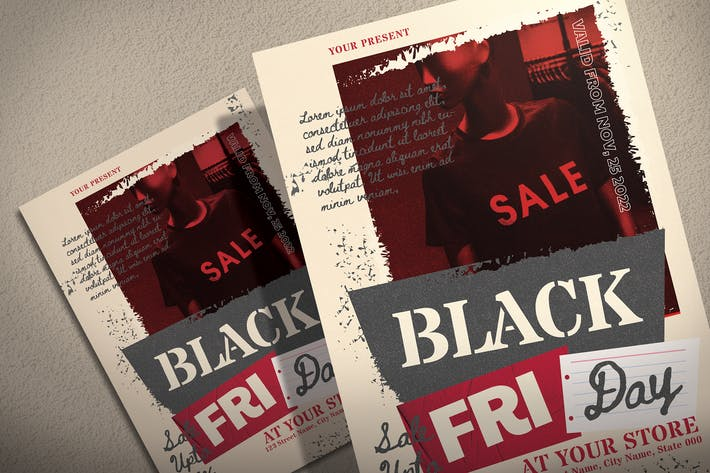 Thumbnail for Black Friday Event - Flyer Template