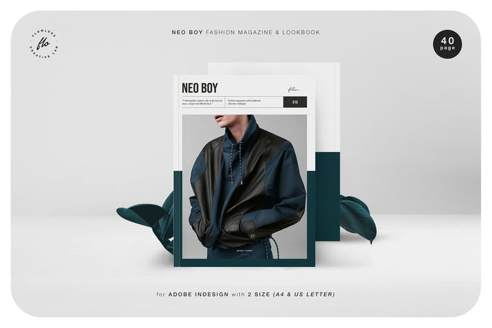 Cover Image For Neo Boy Fashion Magazine & Lookbook