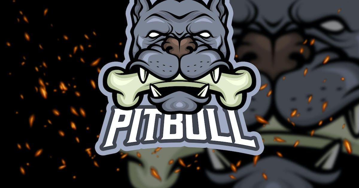 Download Pitbull Head - eSport Logo Template by Graphiqa