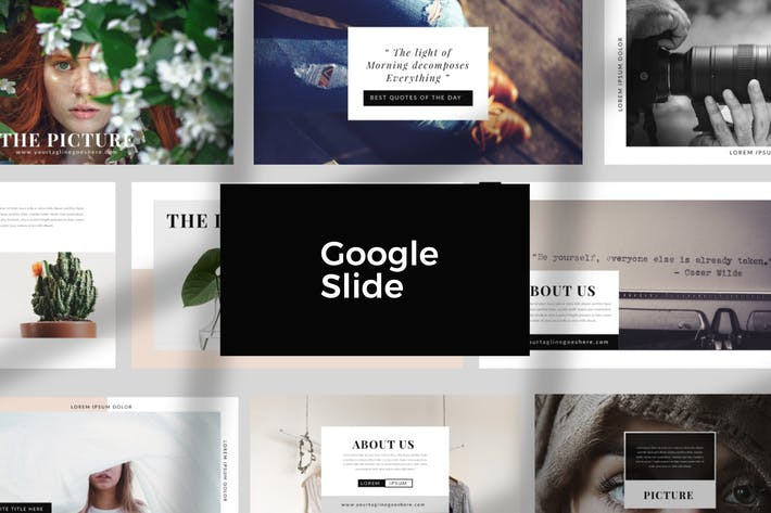 Thumbnail for Lookbook Style Google Slide