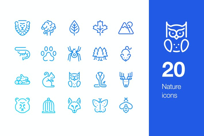 Thumbnail for 20 NaturIcons