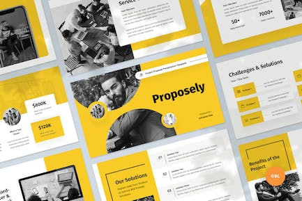Project Proposal & Pitch Slides Template