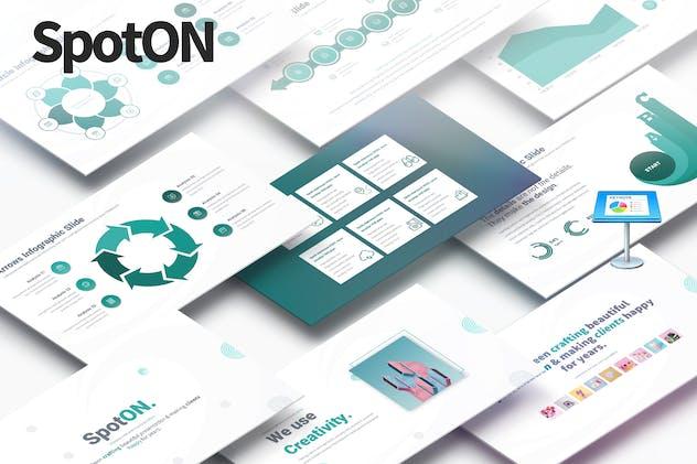 SpotON - Multipurpose Keynote Presentation