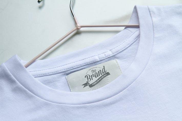 Clothing Label Mockup By Retrobox On Envato Elements