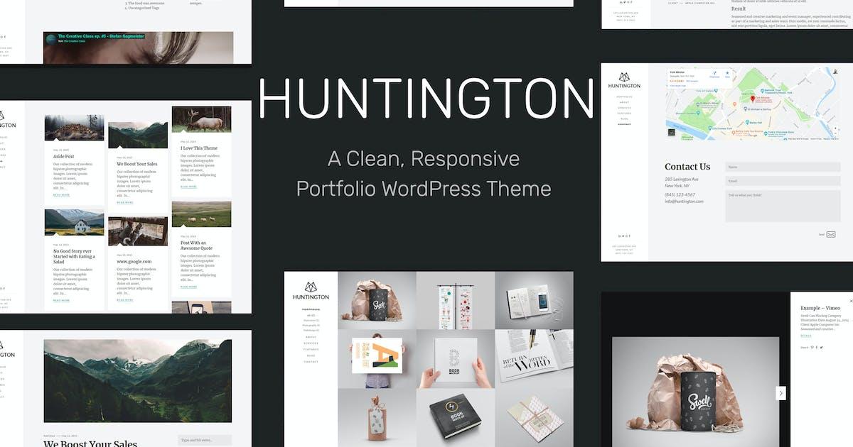 Huntington – Responsive Portfolio WordPress Theme by tommusrhodus