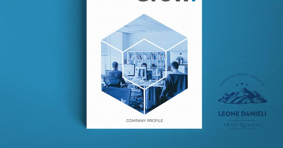 Corporate Bi-fold Brochure by BorisCupac on Envato Elements