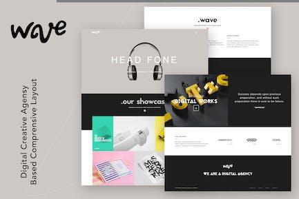 Wave | Agency & Freelancer Portfolio
