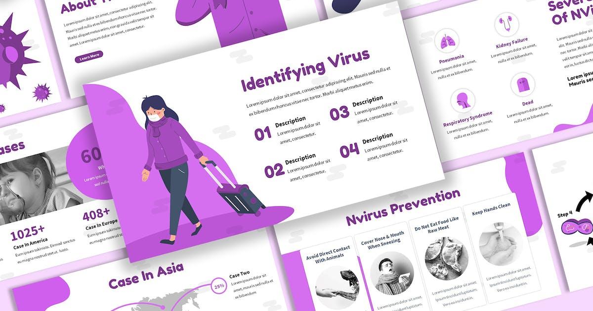 Download NVirus - Disease Keynote Template by SlideFactory