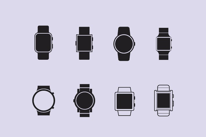 Thumbnail for 8 Smart Watch Icons