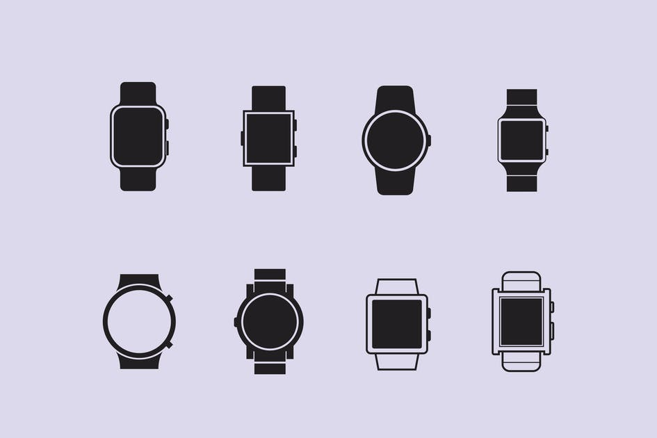 Download 8 Smart Watch Icons by creativevip