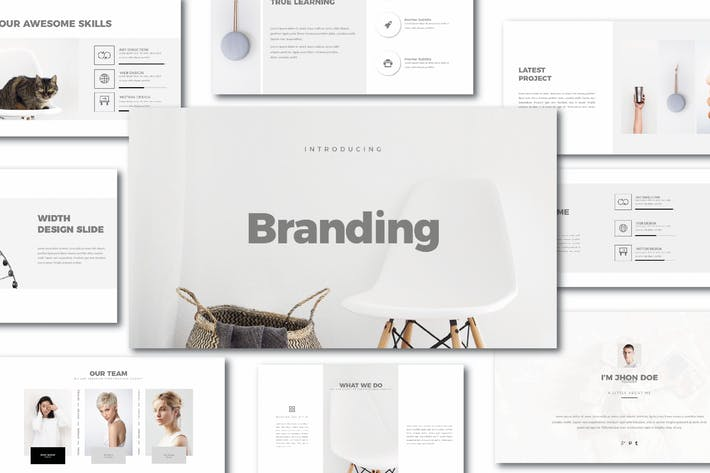 Thumbnail for Branding Keynote Template