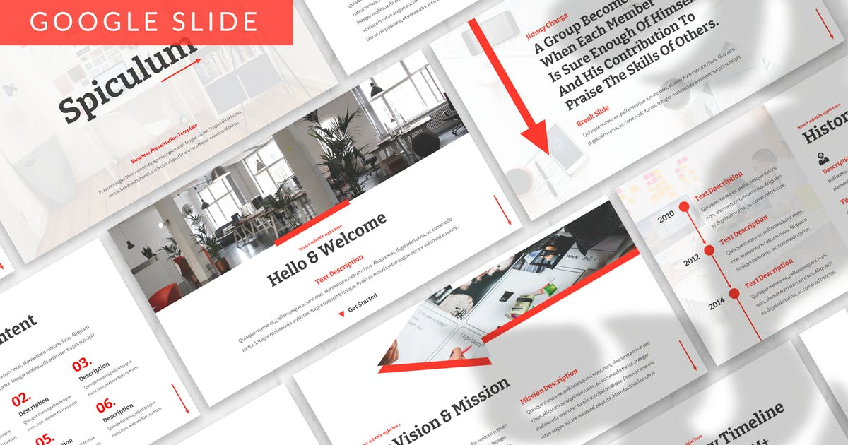Download Spiculum - Business Google Slide Template by designesto
